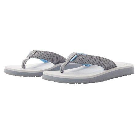 Grundens Women's Deck Hand Grey Sandal