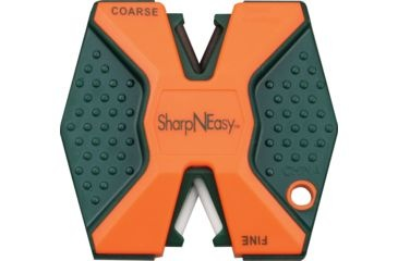 AccuSharp Orange 2-Step Knife Sharpener 335CD SharpNEasy Blaze