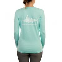 Aftco Jigfish LS Shirt Mint