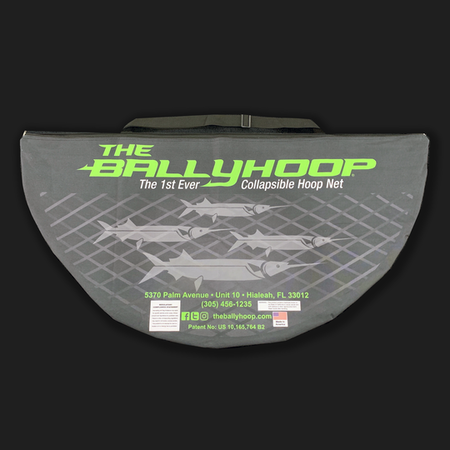 Ballyhoop Aluminum Collapsible Hoop Net - Gen 2