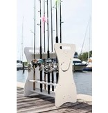 Sea Racks Rod Rack White Hook (LOCAL PICK UP ONLY)