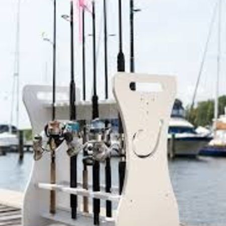Sea Racks Rod Rack White Hook (LOCAL PICK UP ONLY)