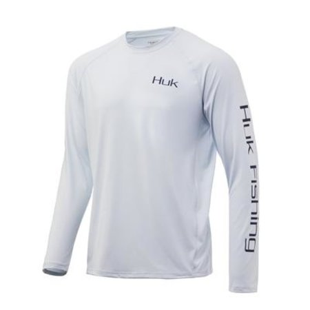 Huk Pursuit Face On LS Shirt Plein Air