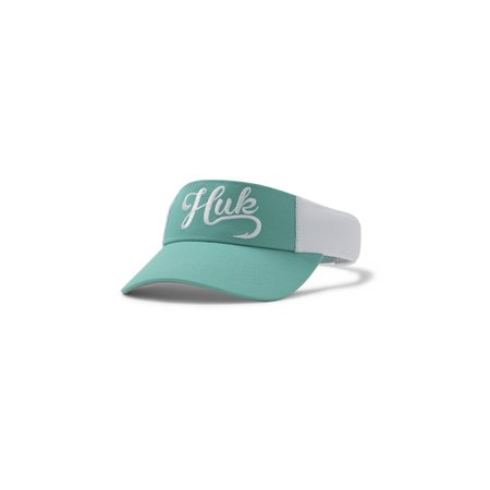 Huk Women's Split Shot Visor Aqua