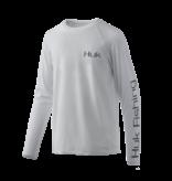 Huk Youth Pursuit Oversized LS UPF Shirt Plein Air