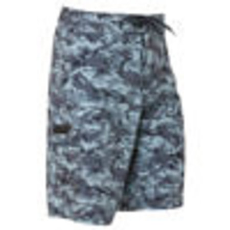 Grundens Fish Head Shorts Refraction Camo Dark Slate