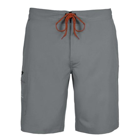 Grundens Fish Head Shorts Monument Gray