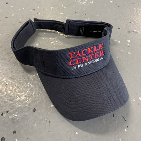 Tackle Center Visor Gray