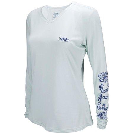Aftco Aftco Women's Jigfish LS Shirt Vapor