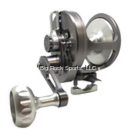 Seigler R108R OS (Offshore Small) Smoke/Silver RH Lever Drag