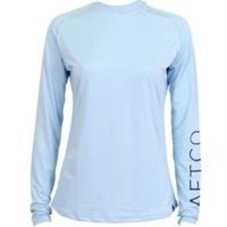 Aftco Women's Samurai LS Shirt Sky Blue
