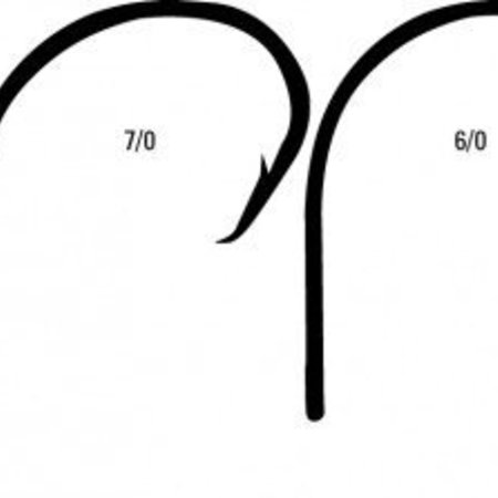 Mustad Demon Circle Hook In-Line 39938NP-BN