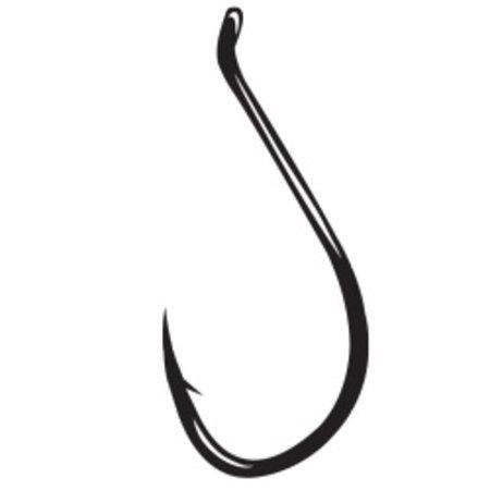 Gamakatsu Live Bait Hook, Needle Point, Ringed Eye, NS Black