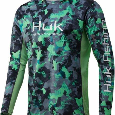 Huk HuK Icon X KC Refraction Camo Hoody New Superior 031