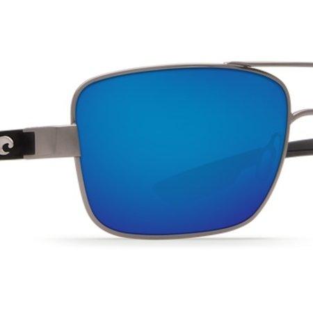 Costa del Mar North Turn Gunmetal w/matte Black Blue Mirror 580P