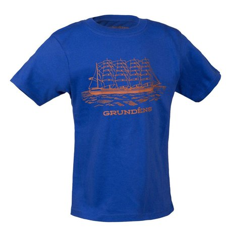 Grundens Grundens Youth Ship T-Shirt Royal Blue