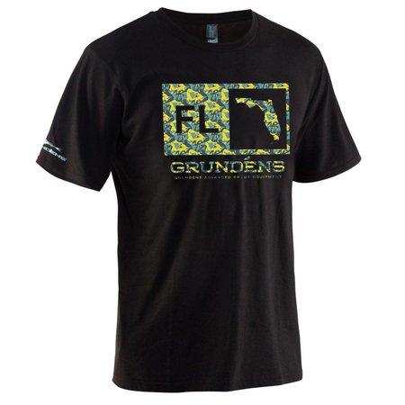 Grundens Location T-Shirt Florida Black
