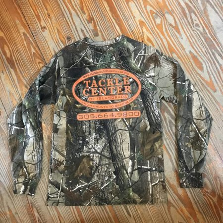 Tackle Center Tackle Center Camo Cotton Long Sleeve T-Shirt