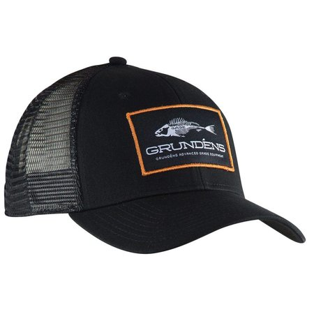 Grundens Trucker Hat Black/Orange