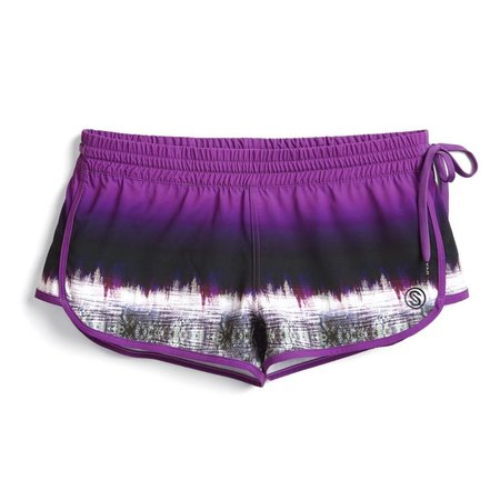 Scales Women's Swordy Shorts Purple