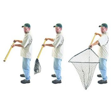 "Frabill 3600 Hiber-Net 23x22"" 52"" Handle Collapsible"