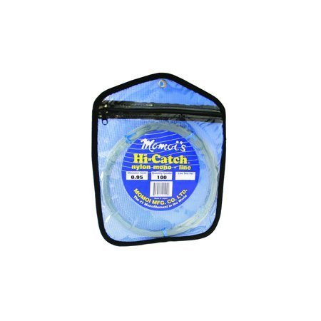 Momoi Hi-Catch Leader Coil 250 Lb 100 Yds Smoke Blue