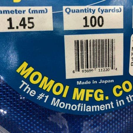 Momoi X-Tra Hard Leader 100 yards 220 lb Clear