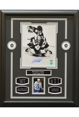 WENDEL CLARK AUTOGRAPH 16X20 FRAME - TORONTO MAPLE LEAFS