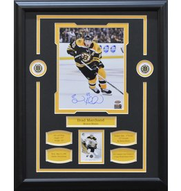 BRAD MARCHAND AUTOGRAPH 16X20 FRAME - BOSTON BRUINS