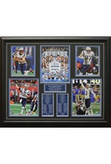 NEW ENGLAND PATRIOTS SUPER BOWL LIII - 22X28 FRAME