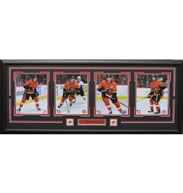 CALGARY FLAMES CURRENT 4 PHOTO 16X42 FRAME