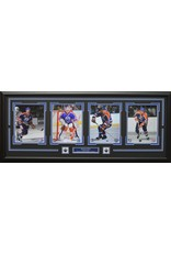 EDMONTON OILERS ALL-TIME GREATS 4 PHOTO 16X42 FRAME