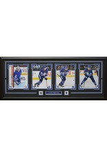 TORONTO MAPLE LEAFS CURRENT 4 PHOTO 16X42 FRAME