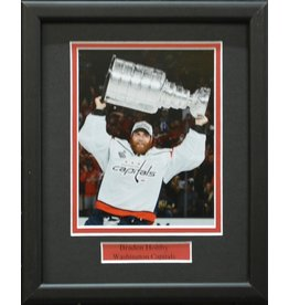 BRADEN HOLTBY 8X10 FRAME - WASHINGTON CAPITALS