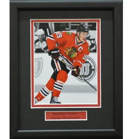 JONATHAN TOEWS 8X10 FRAME - CHICAGO BLACKHAWKS