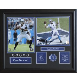 CAM NEWTON 16X20 FRAME - CAROLINA PANTHERS