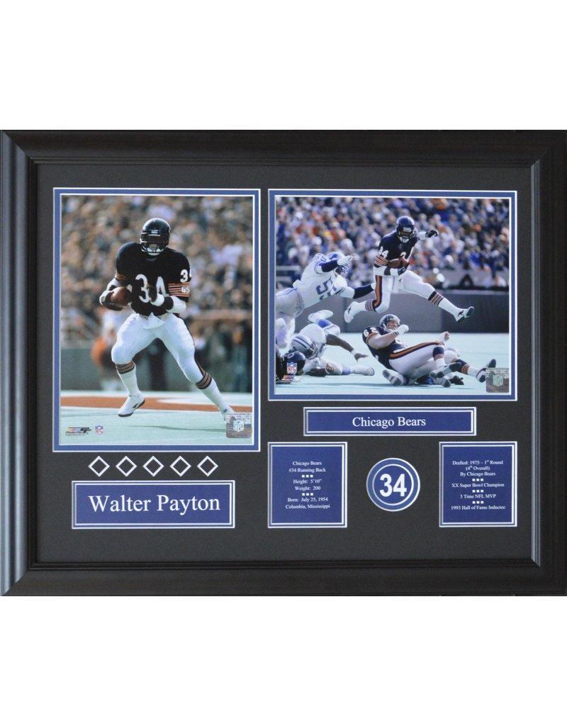 WALTER PAYTON 16X20 FRAME - CHICAGO BEARS