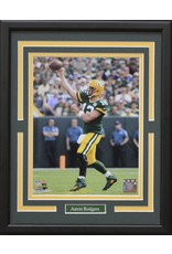 AARON RODGERS 11X14 FRAME - GREEN BAY PACKERS