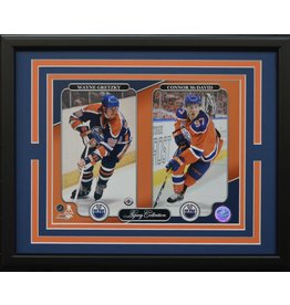 EDMONTON OILERS LEGACY COLLECTION 11X14 FRAME
