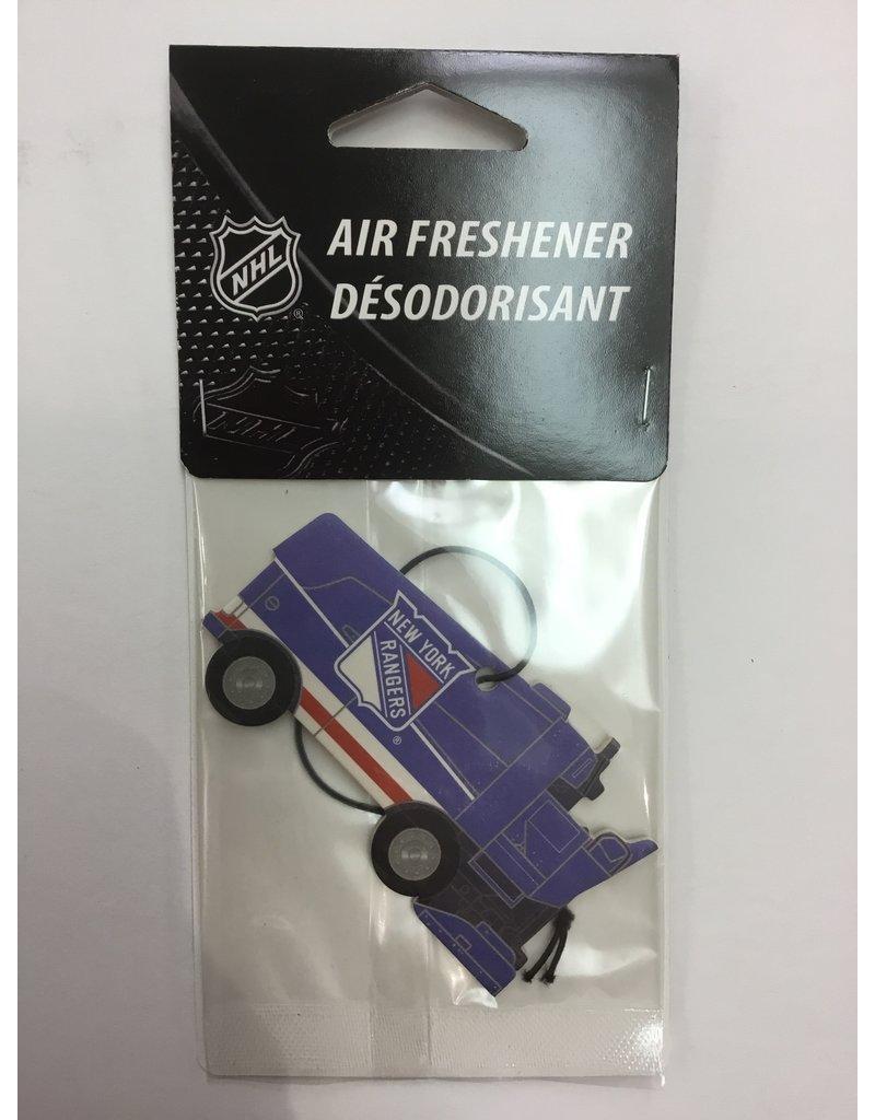 ZAMBONI AIR FRESHENER NEW YORK RANGERS