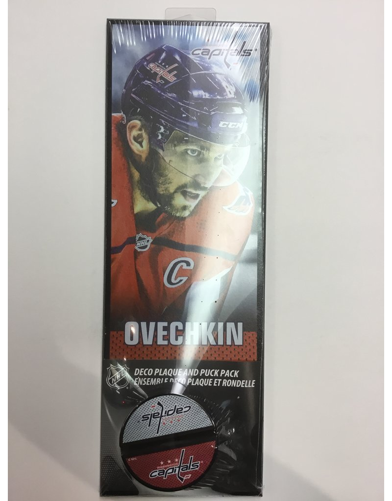 DECO PLAQUE AND HOLDER ALEX OVECHKIN