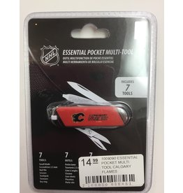 ESSENTIAL POCKET MULTI TOOL CALGARY FLAMES