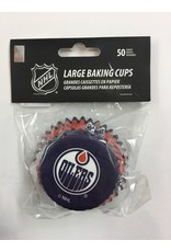 LARGE BAKING CUPS EDMONTON OILERS