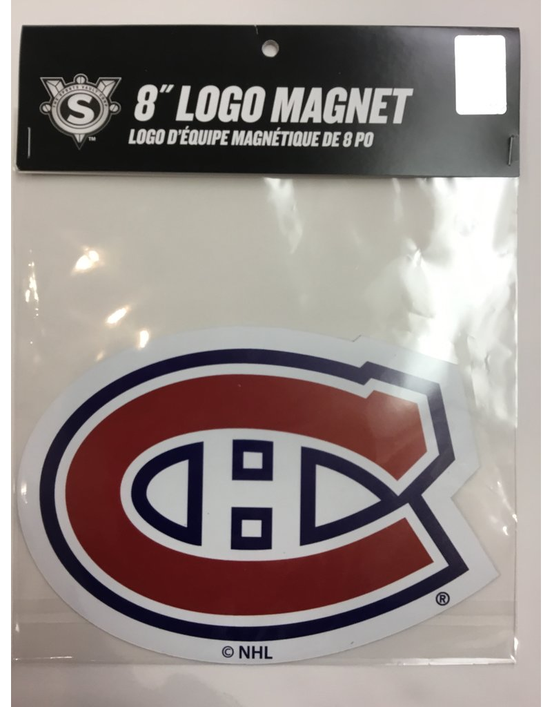 8 INCH CAR MAGNET MONTREAL CANADIENS