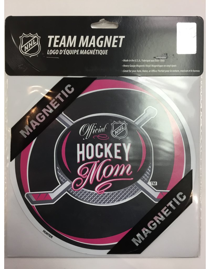 8 INCH CAR MAGNET HOCKEY MOMS