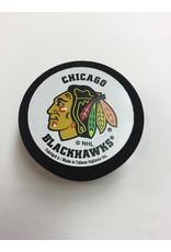 FOAM PUCK CHICAGO BLACKHAWKS