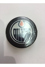 ASSORTED PUCK EDMONTON OILERS
