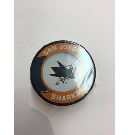 ASSORTED PUCK SAN JOSE SHARKS