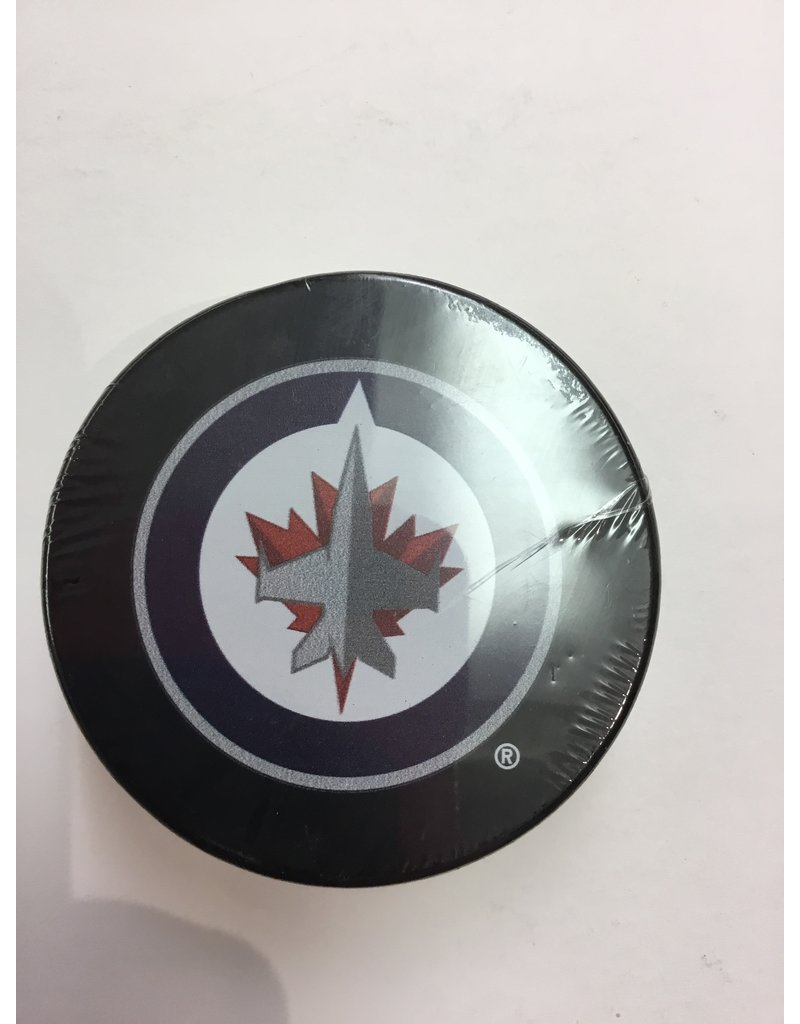 ASSORTED PUCK WINNIPEG JETS