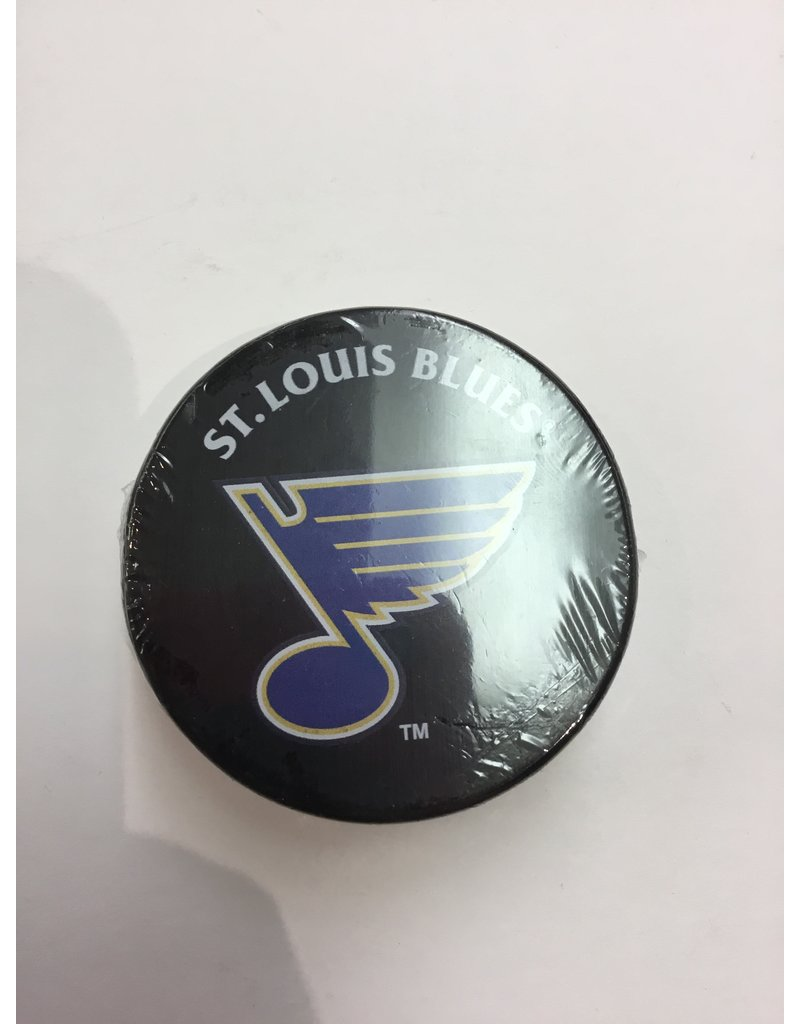 ASSORTED PUCK ST LOUIS BLUES